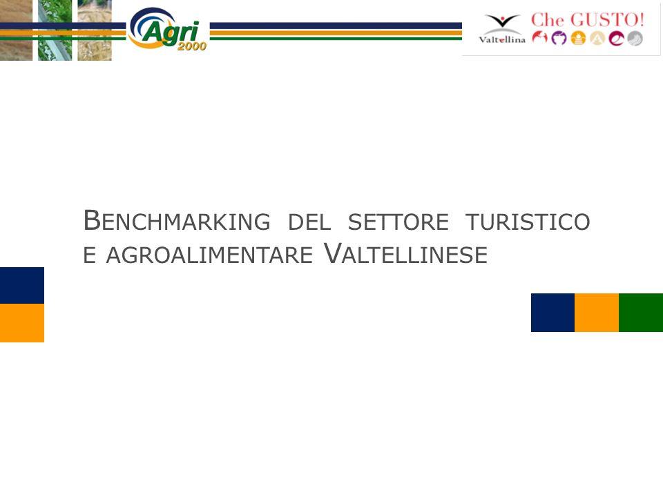 Benchmarking del settore turistico e agroalimentare Valtellinese