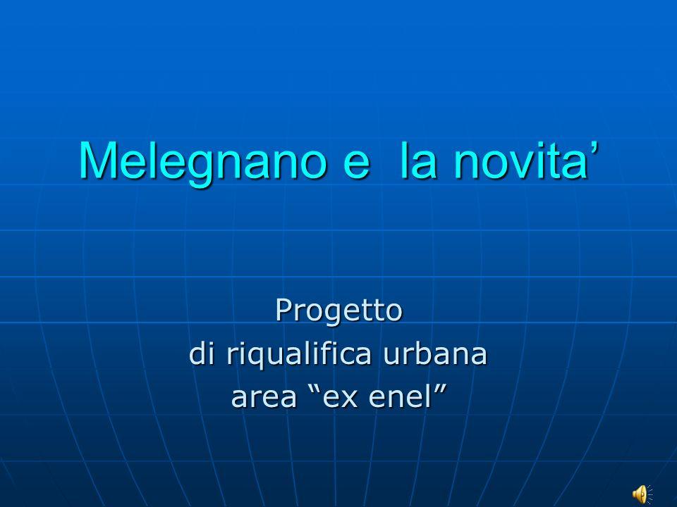Progetto di riqualifica urbana area ex enel
