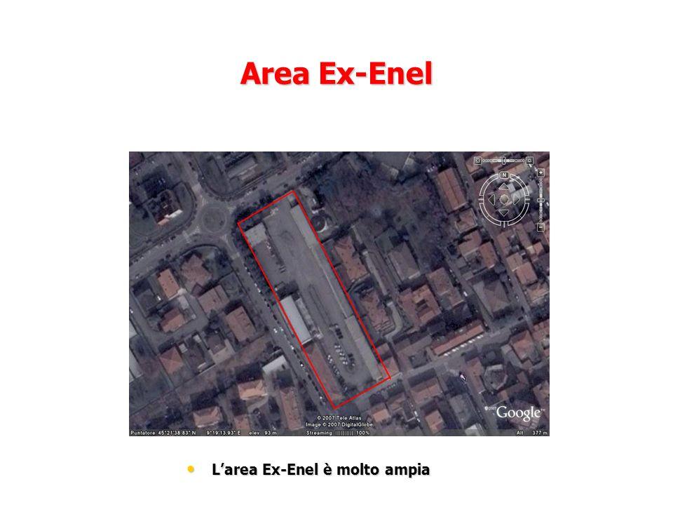 L'area Ex-Enel è molto ampia