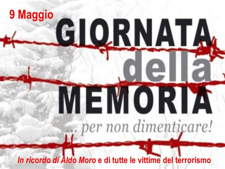 In ricordo di Aldo Moro e di tutte le vittime del terrorismo