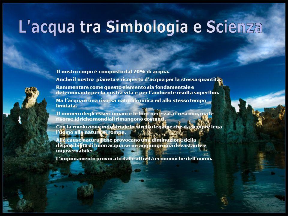 L acqua tra Simbologia e Scienza