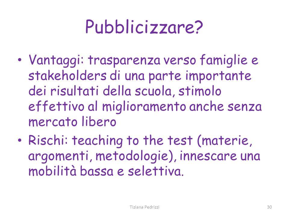 Pubblicizzare