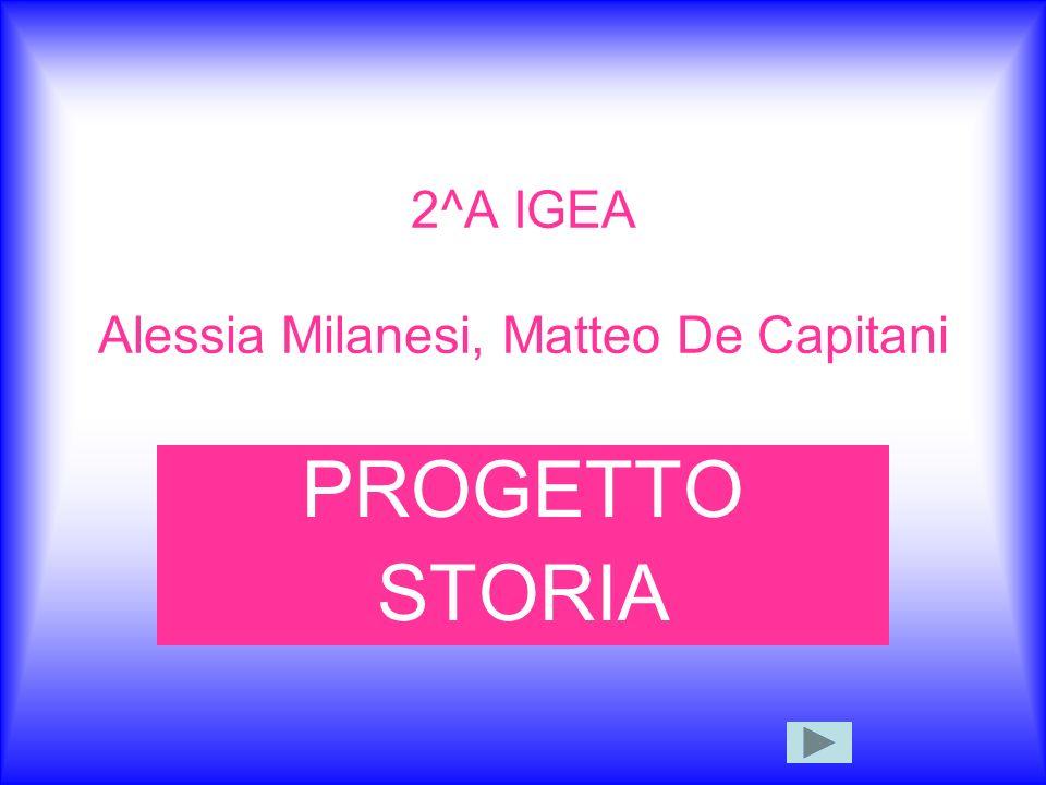 2^A IGEA Alessia Milanesi, Matteo De Capitani