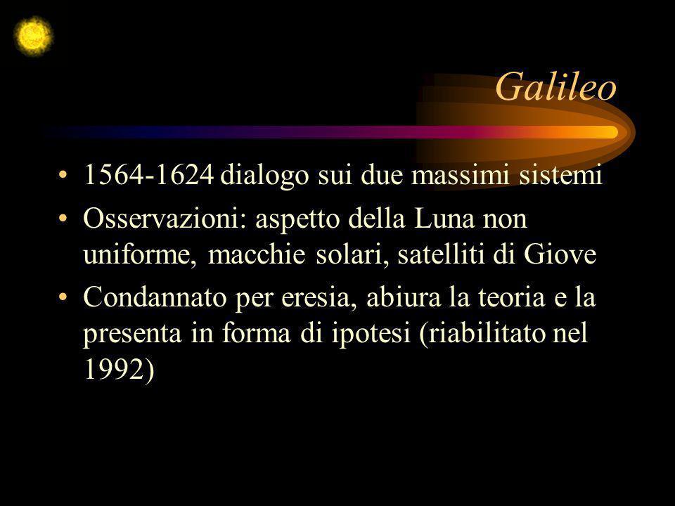 Galileo 1564-1624 dialogo sui due massimi sistemi