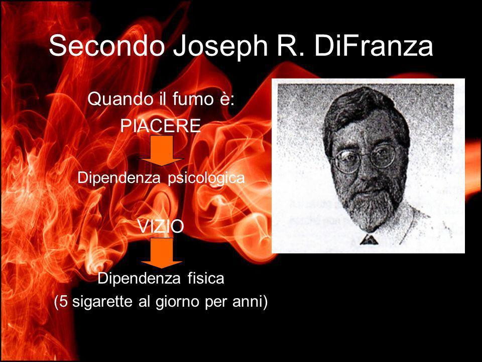 Secondo Joseph R. DiFranza