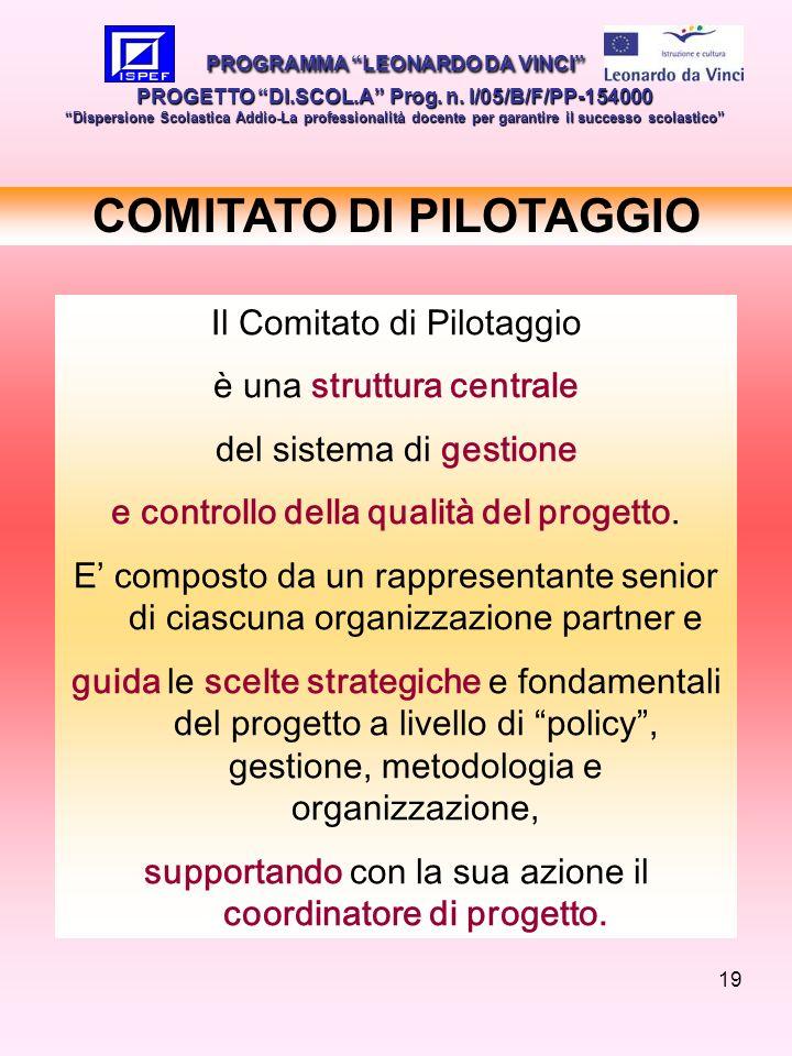 COMITATO DI PILOTAGGIO