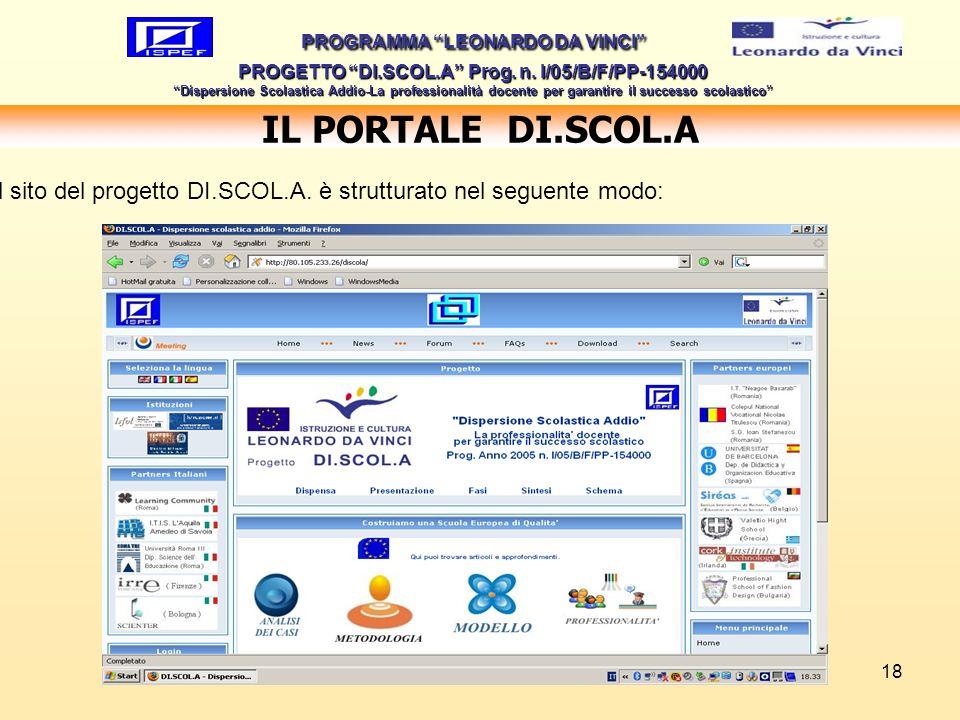 IL PORTALE DI.SCOL.A www.discola.net