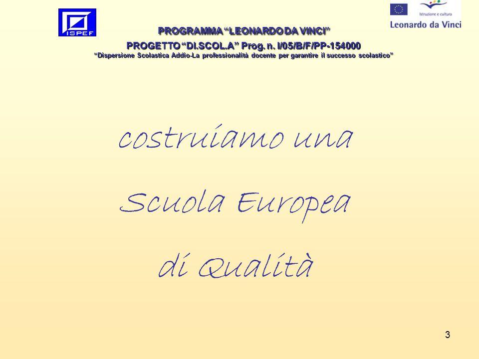costruiamo una Scuola Europea di Qualità