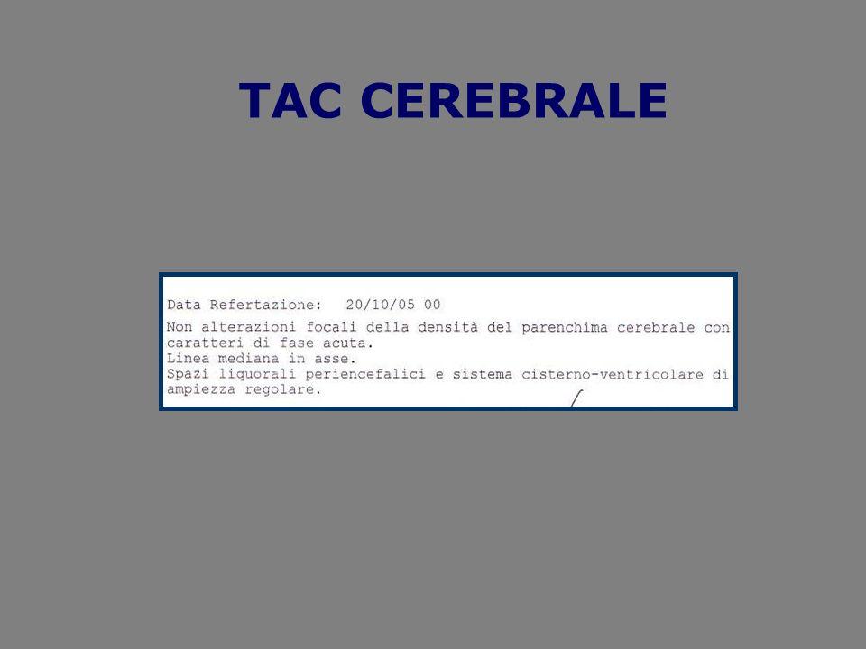 TAC CEREBRALE
