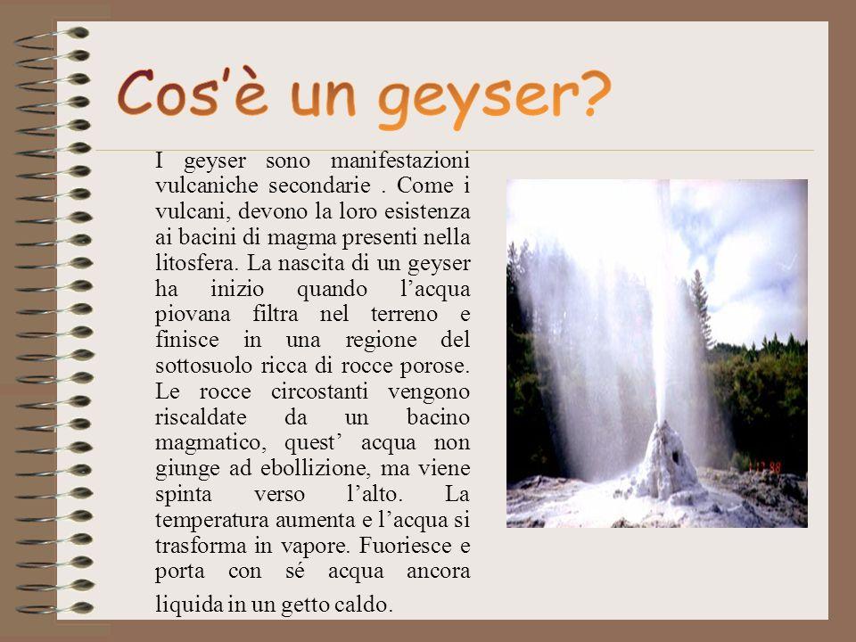 Cos'è un geyser