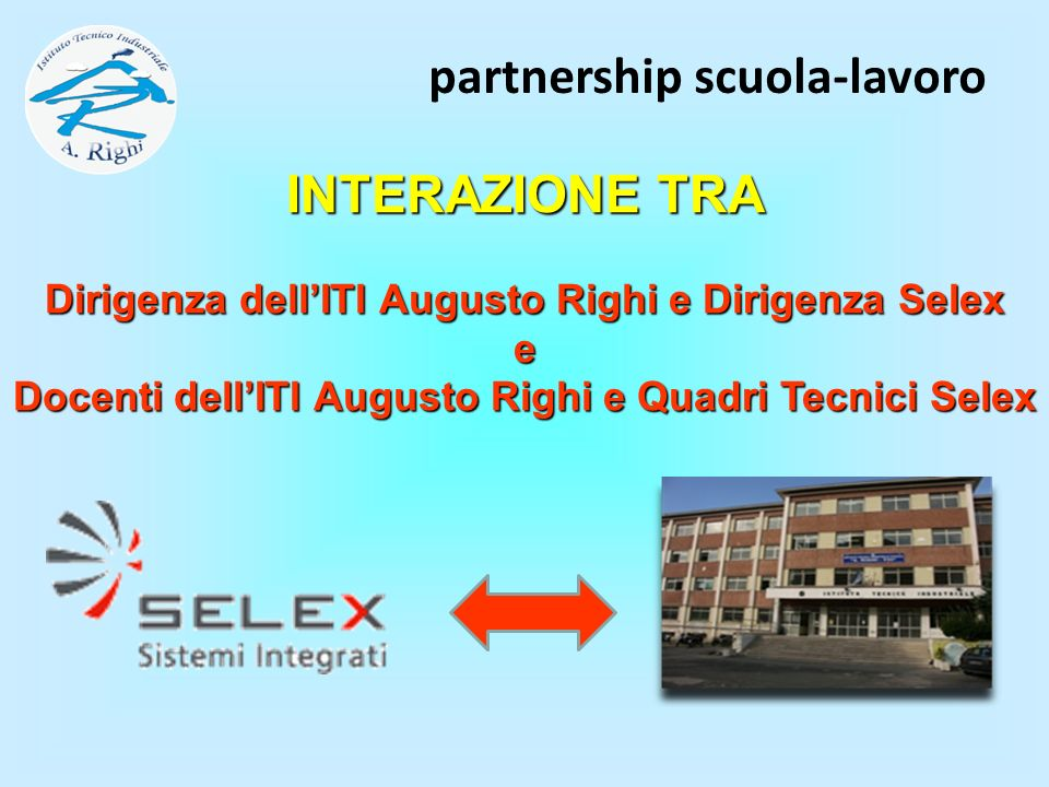 partnership scuola-lavoro
