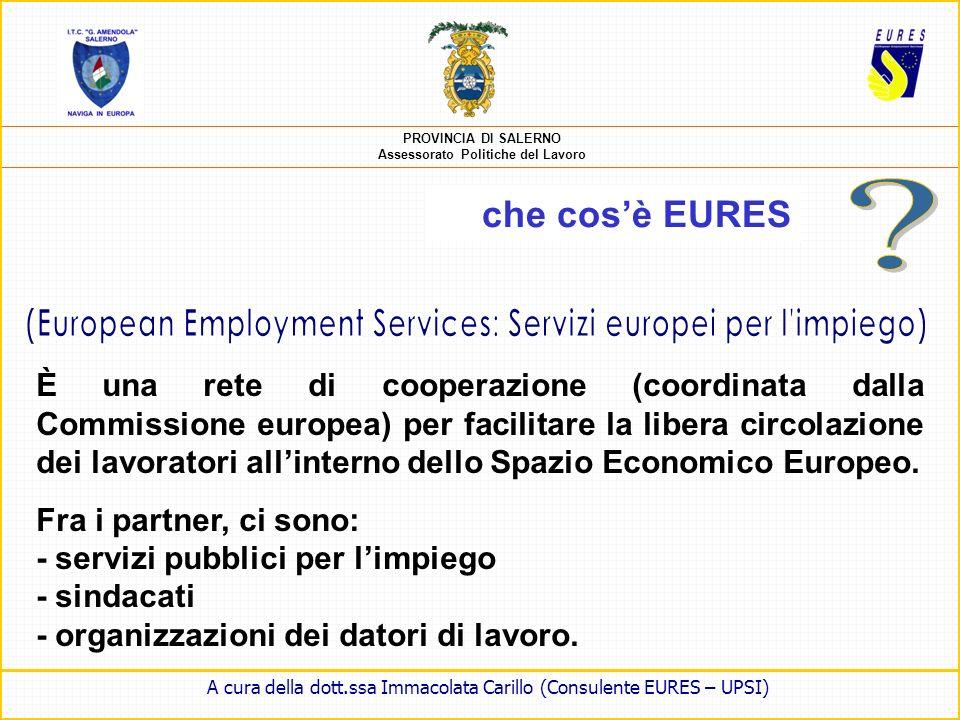(European Employment Services: Servizi europei per l impiego)