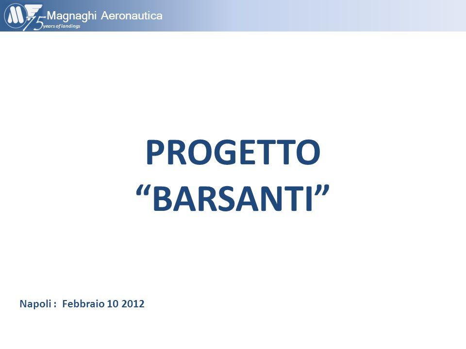 PROGETTO BARSANTI 75 Magnaghi Aeronautica Napoli : Febbraio 10 2012