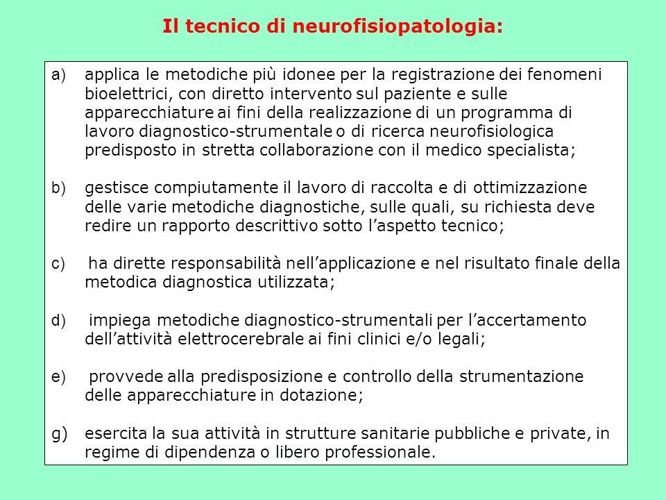 Il tecnico di neurofisiopatologia: