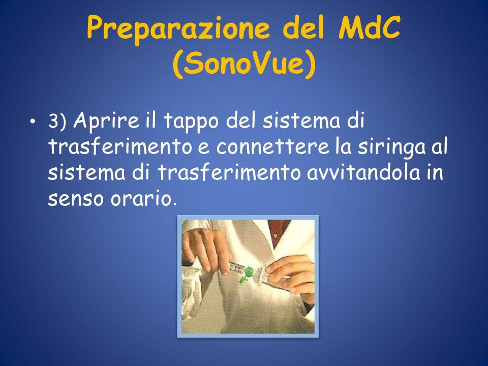 Preparazione del MdC (SonoVue)