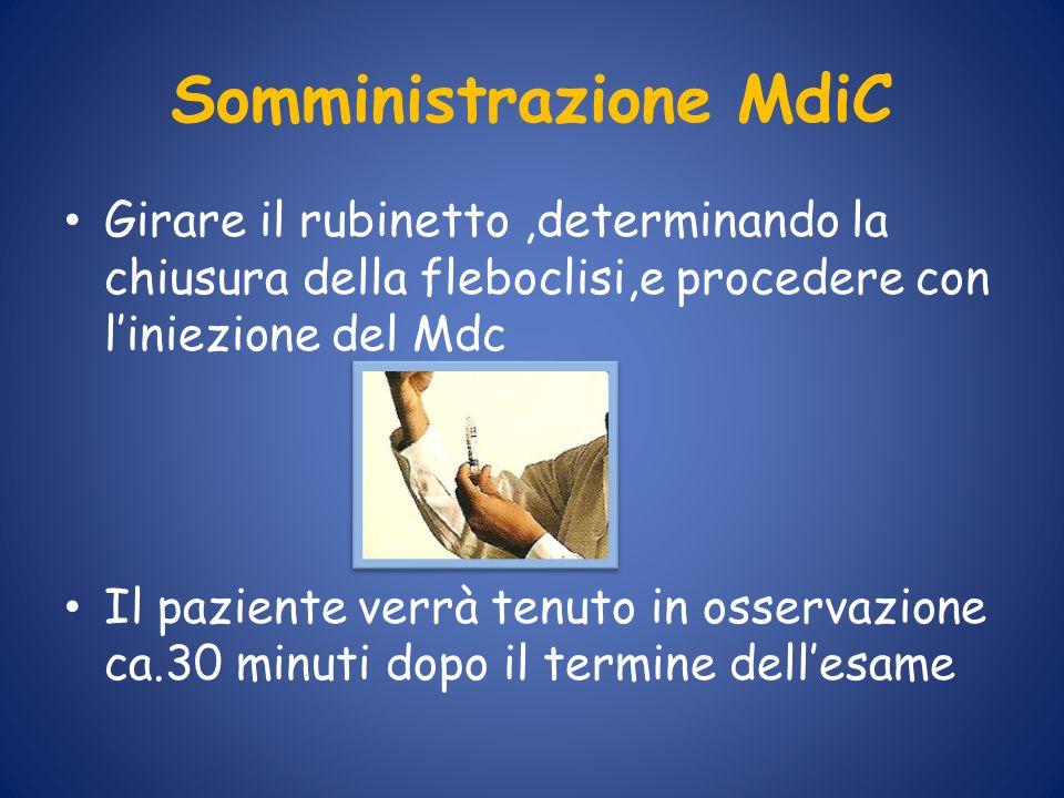 Somministrazione MdiC