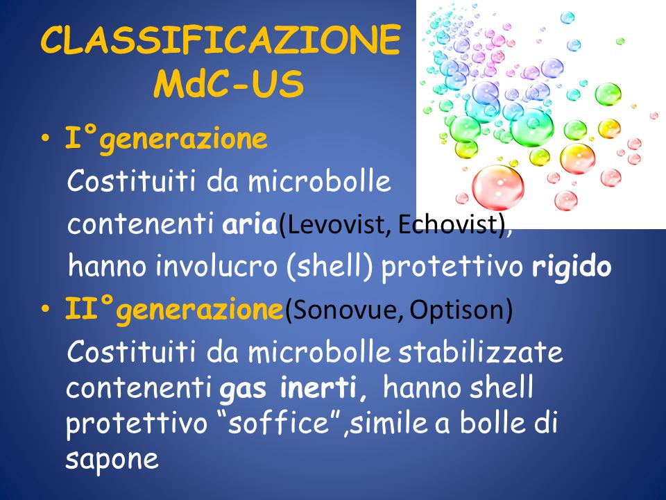 CLASSIFICAZIONE MdC-US