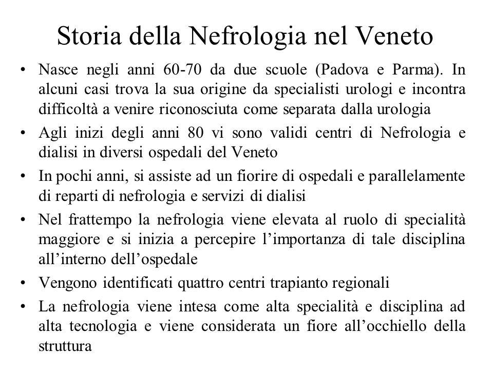 Storia della Nefrologia nel Veneto