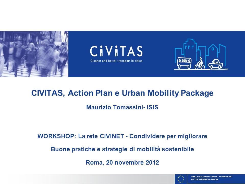 CIVITAS, Action Plan e Urban Mobility Package