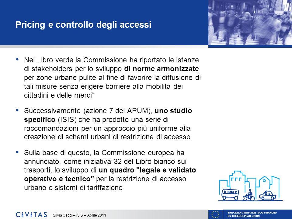 Pricing e controllo degli accessi