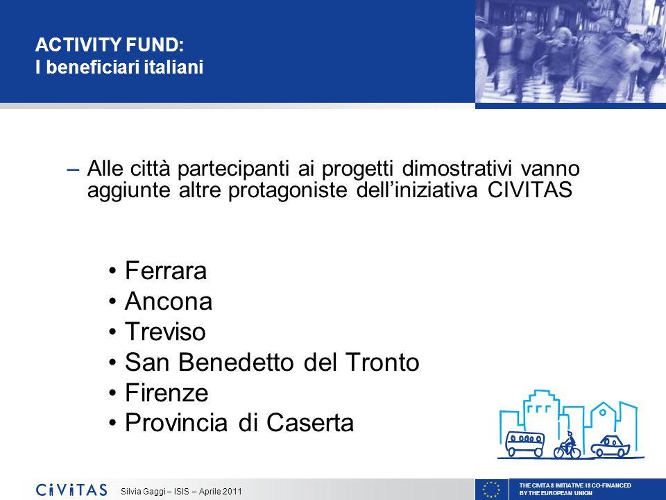ACTIVITY FUND: I beneficiari italiani