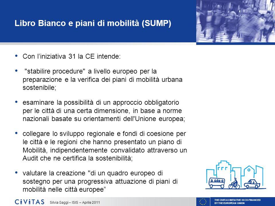 Libro Bianco e piani di mobilità (SUMP)