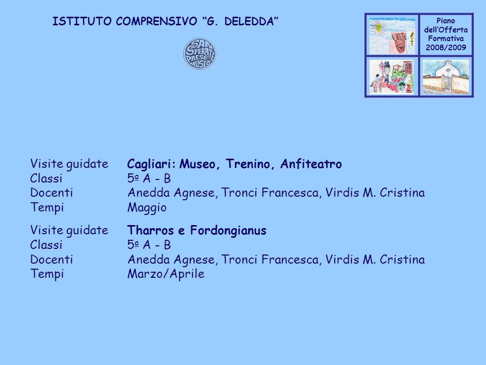 Visite guidate Cagliari: Museo, Trenino, Anfiteatro