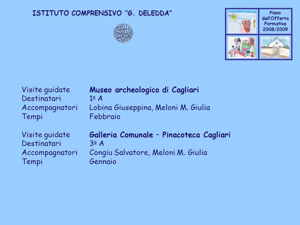 Visite guidate Museo archeologico di Cagliari