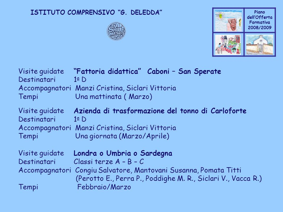 Visite guidate Fattoria didattica Caboni – San Sperate