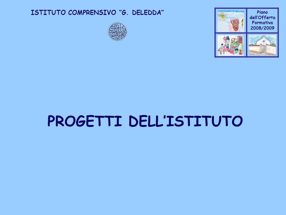 PROGETTI DELL'ISTITUTO