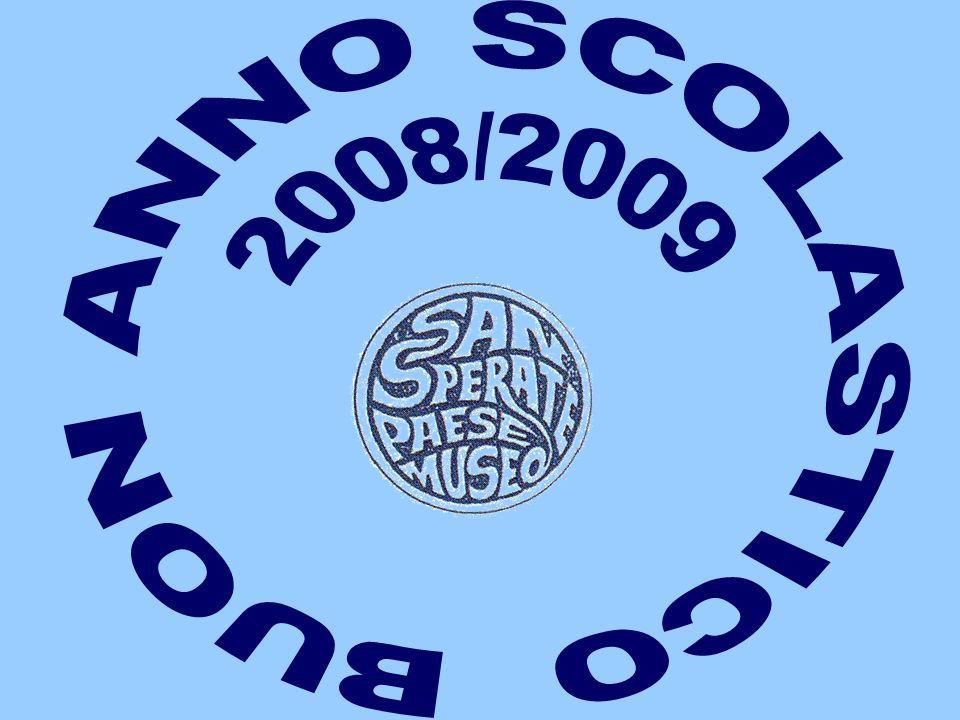 BUON ANNO SCOLASTICO 2008/2009