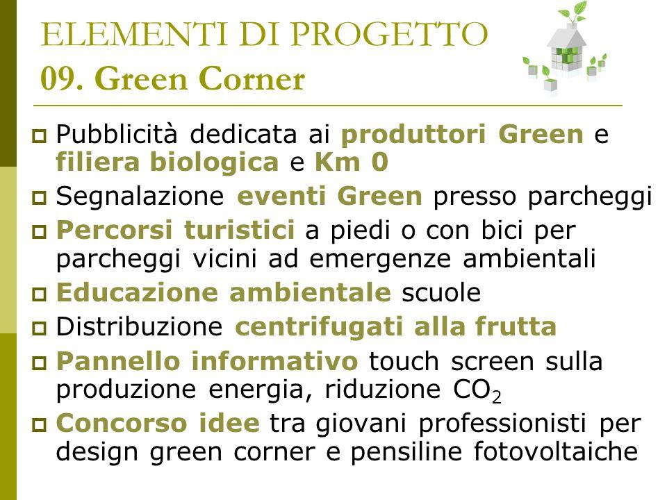 ELEMENTI DI PROGETTO 09. Green Corner