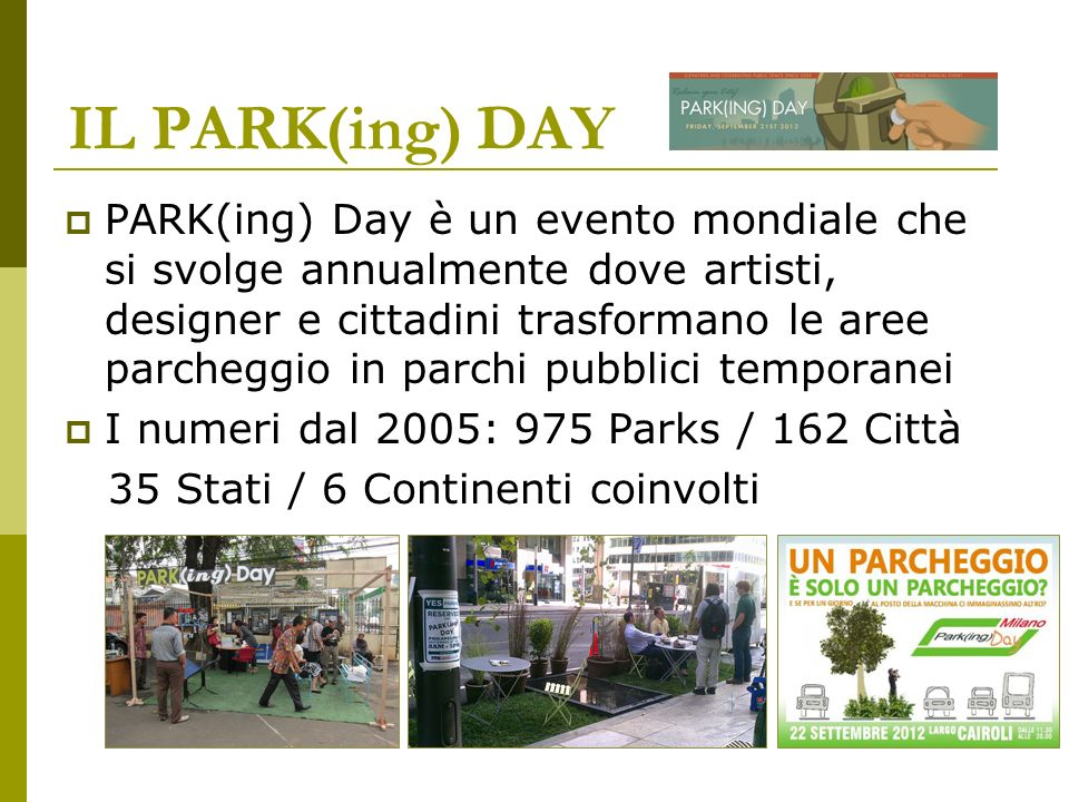 IL PARK(ing) DAY