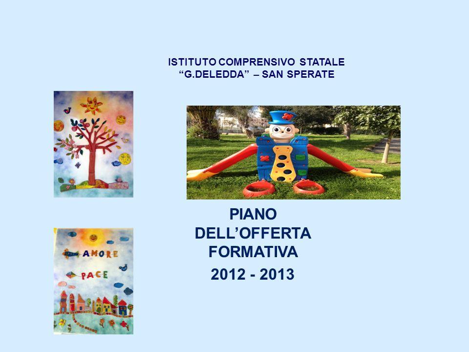 ISTITUTO COMPRENSIVO STATALE G.DELEDDA – SAN SPERATE