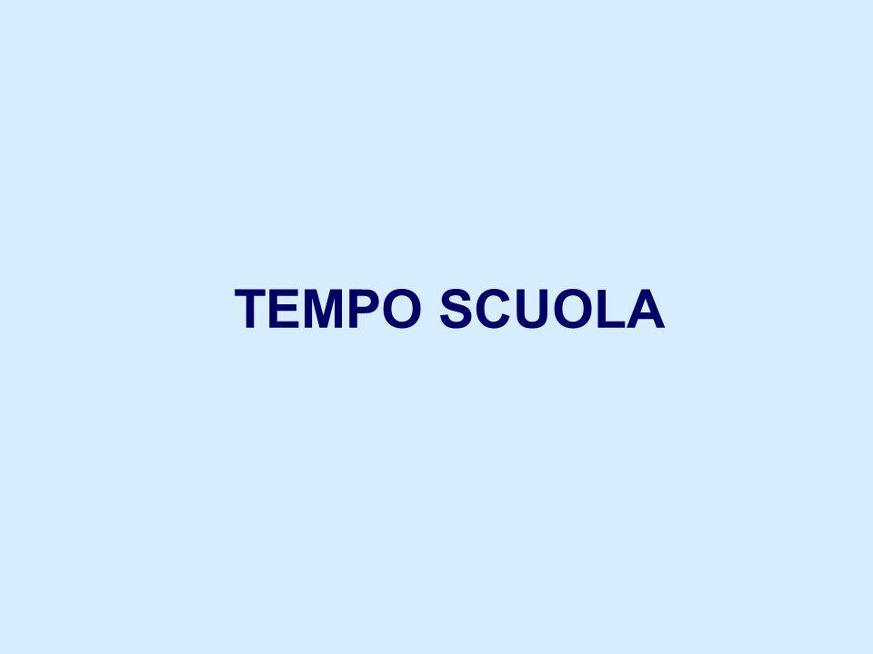 TEMPO SCUOLA
