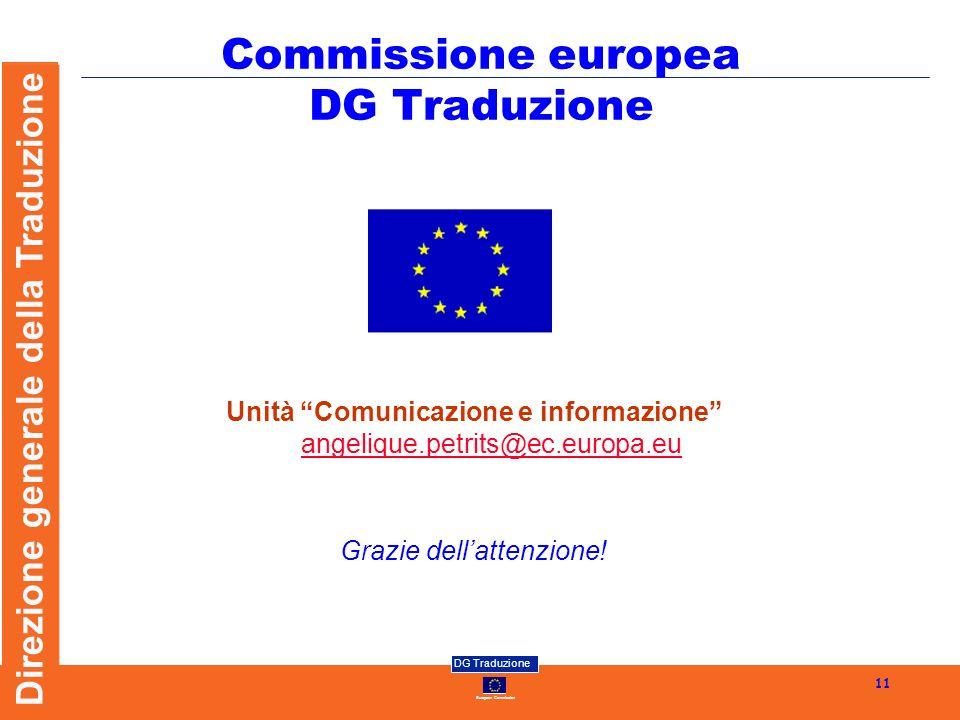 Commissione europea DG Traduzione
