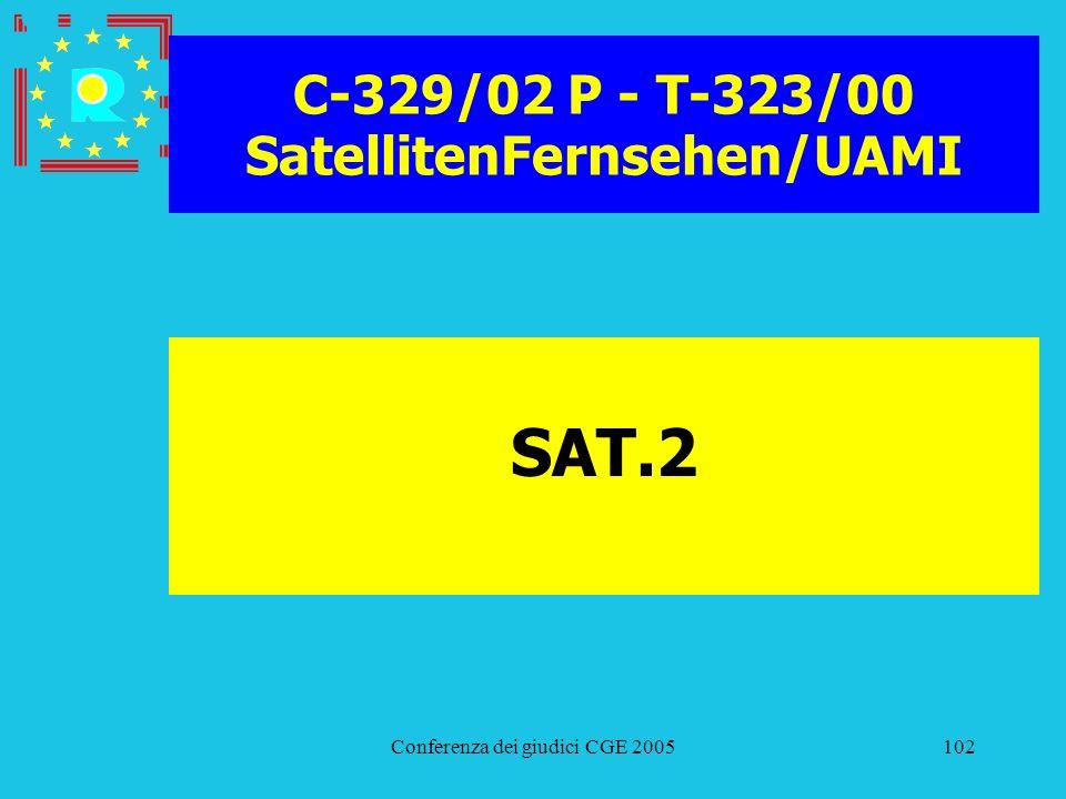 C-329/02 P - T-323/00 SatellitenFernsehen/UAMI