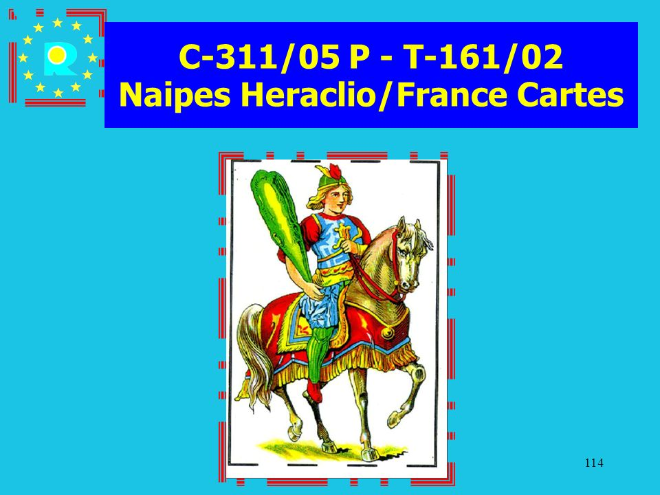C-311/05 P - T-161/02 Naipes Heraclio/France Cartes