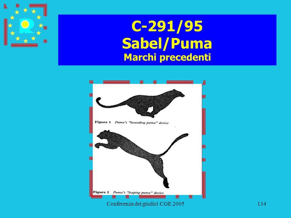 C-291/95 Sabel/Puma Marchi precedenti