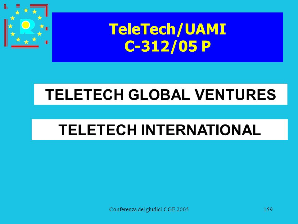 TELETECH GLOBAL VENTURES TELETECH INTERNATIONAL