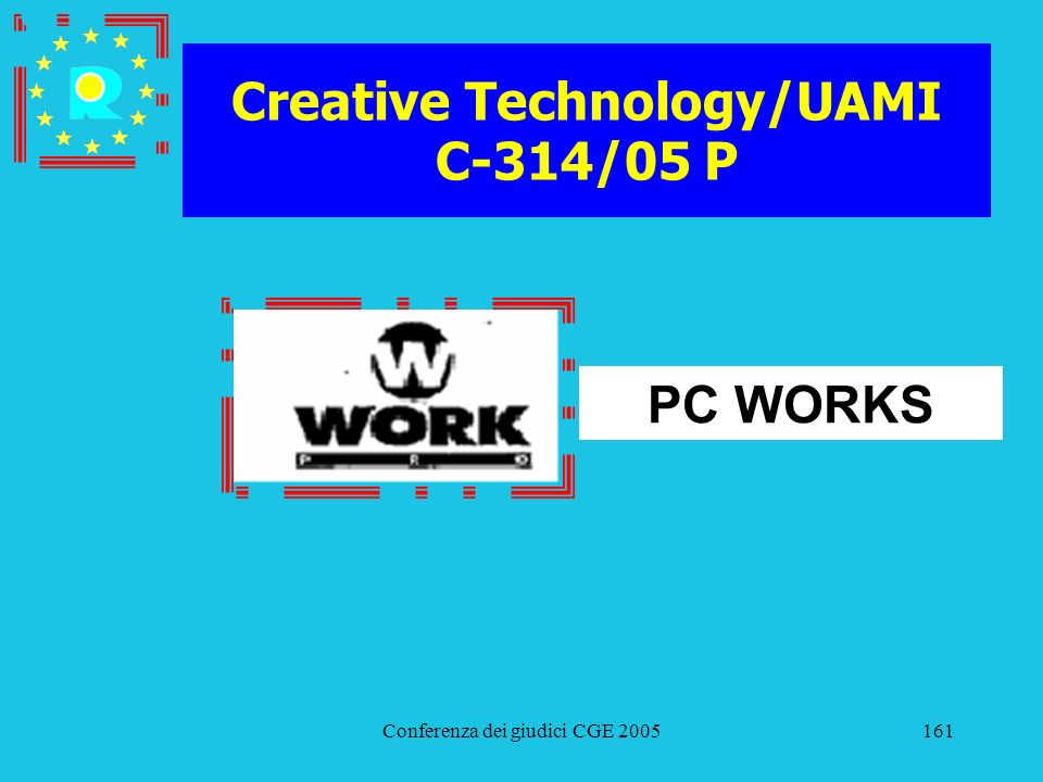 Creative Technology/UAMI C-314/05 P
