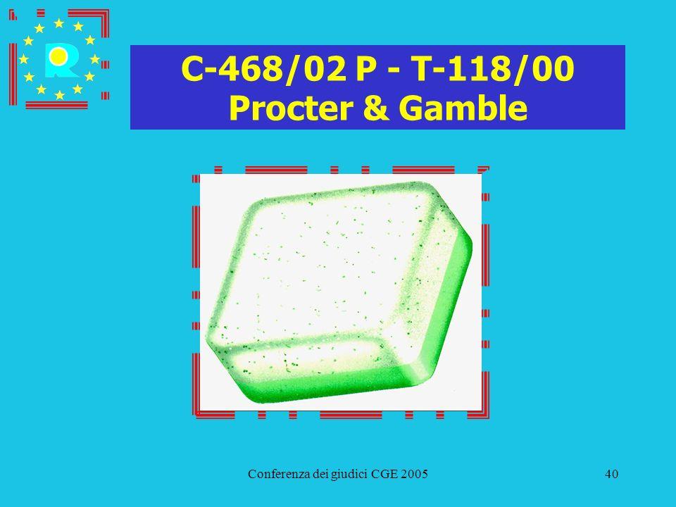 C-468/02 P - T-118/00 Procter & Gamble