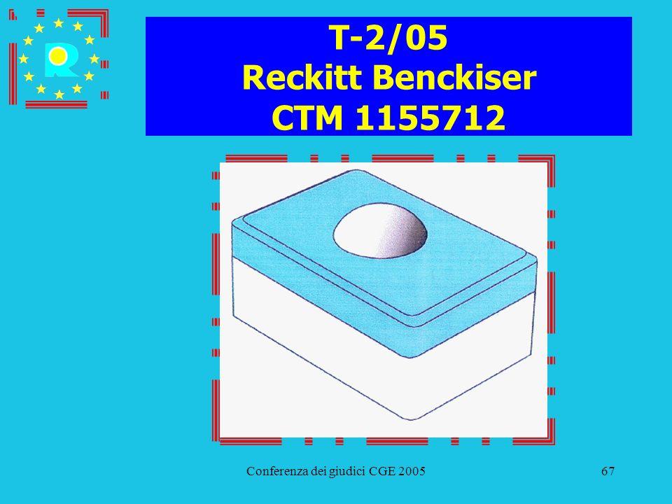 T-2/05 Reckitt Benckiser CTM 1155712