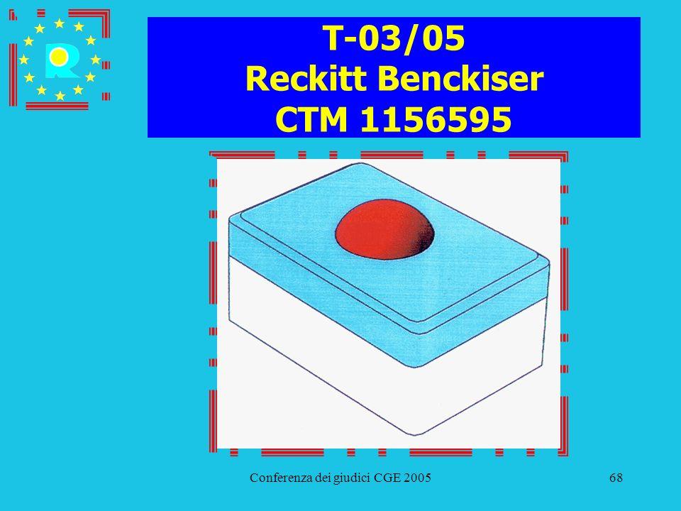 T-03/05 Reckitt Benckiser CTM 1156595