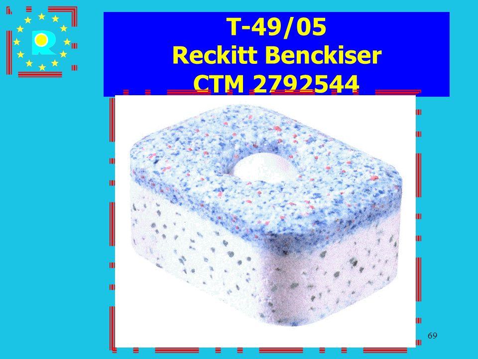 T-49/05 Reckitt Benckiser CTM 2792544
