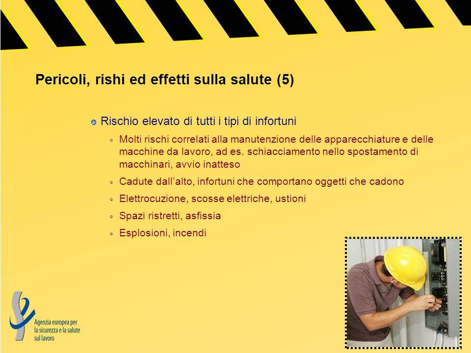 Pericoli, rishi ed effetti sulla salute (5)