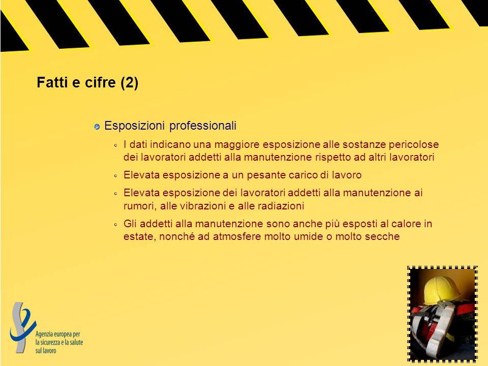 Fatti e cifre (2) Esposizioni professionali