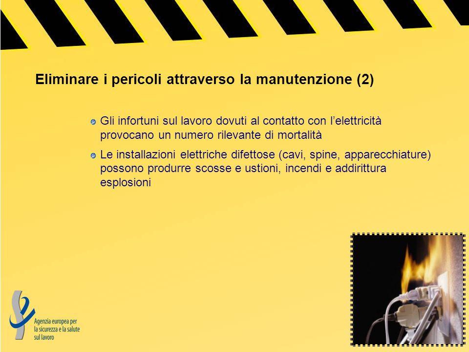 Eliminare i pericoli attraverso la manutenzione (2)