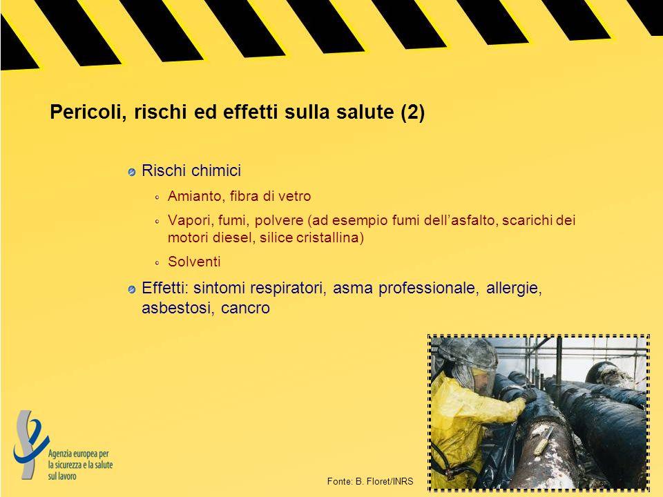 Pericoli, rischi ed effetti sulla salute (2)