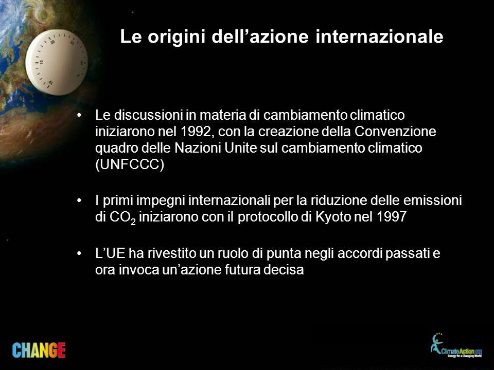 Le origini dell'azione internazionale
